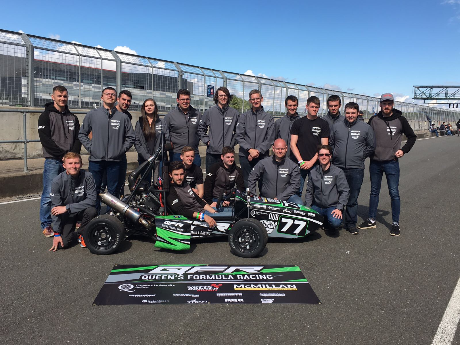 QFR team pic - car